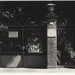 Cancello dell'Ospedale - ingresso via XIV Settembre